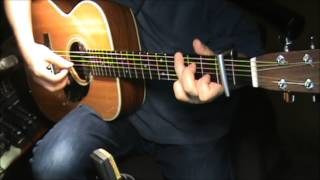 in the palm of your hand ron block alison krauss guitar chords finger style cover