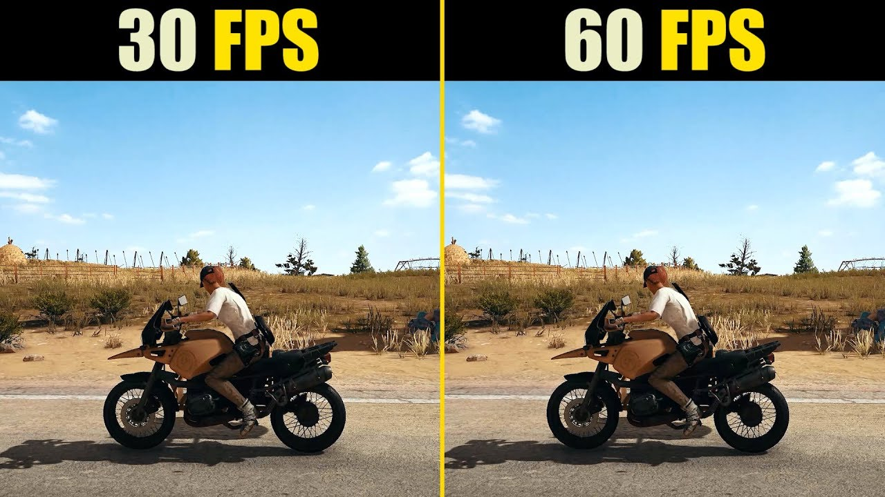 30 FPS vs  60 FPS Gaming
