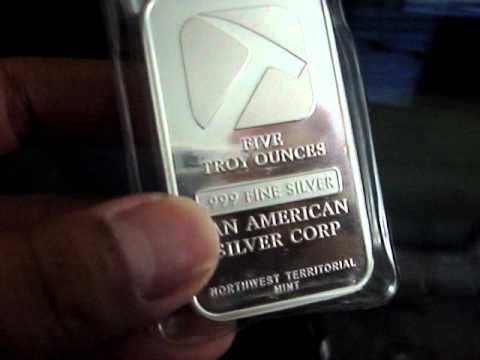 New silver pick up Pan American SIiver Corp 5oz