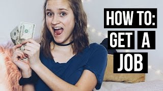 7 Tips on Getting Your First Job FAST!!