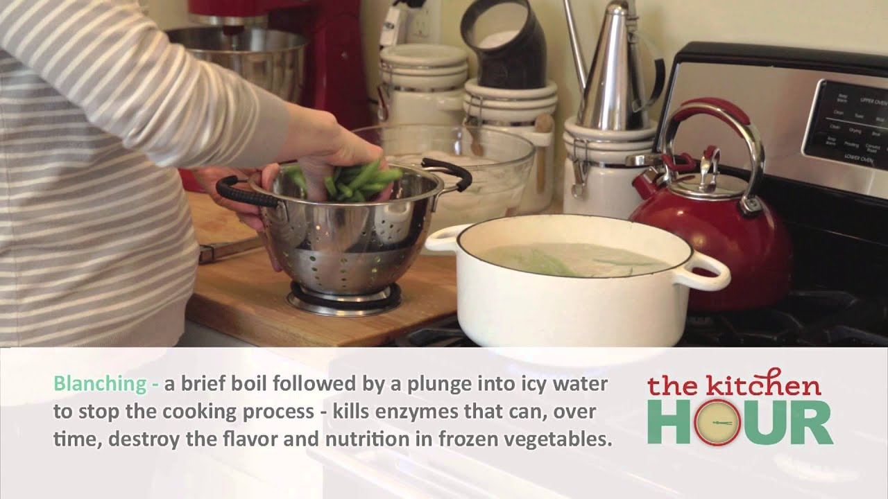 How to Blanch and Freeze Vegetables