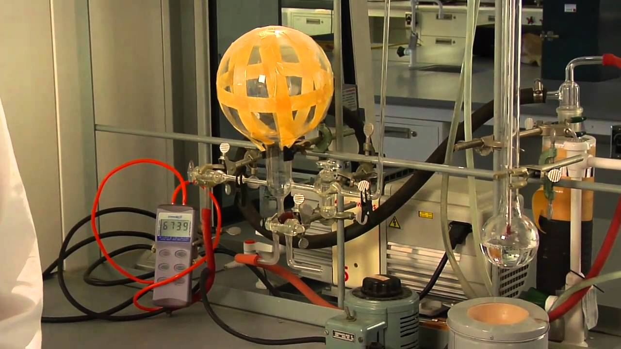 vapor pressure of a pure liquid lab report