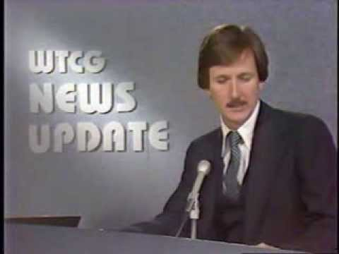 WTCG - 17 Atlanta News Update w/ Bill Tush and commercial break  06/20/79