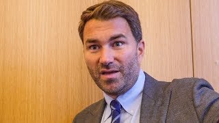 Eddie Hearn SHOOK! 'Have to be CAREFUL with Dereck Chisora' | Prophet Muscle 'Sensei Something'