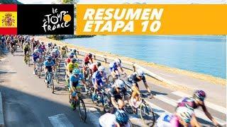 Resumen - Etapa 10 - Tour de France 2018