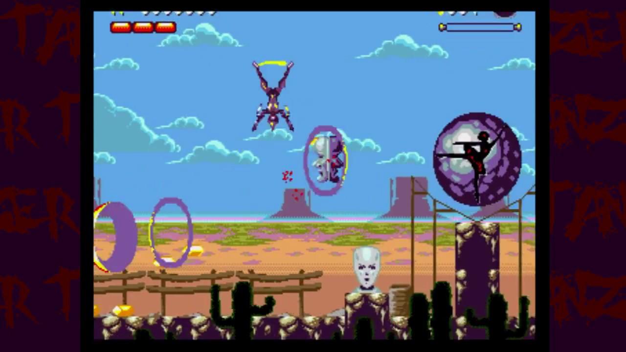Tänzer by mix256 (Mega Drive ninja action platformer) is on
