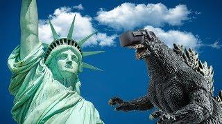 Godzilla Attacks New York! - Super Ultra Monster Smash (HTC Vive VR)