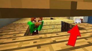 СПРЯТАЛИСЬ С ДРУГОМ ОТ МАНЬЯКА В ТУАЛЕТЕ - Minecraft Murder Mystery