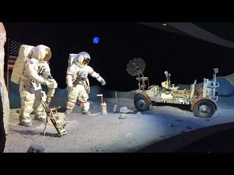 Must to do in Houston Texas - visit NASA space center review
