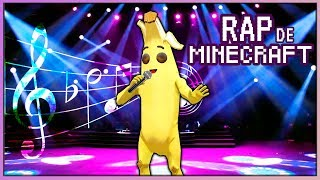 CANTAMOS EL *RAP DE MINECRAFT* 🎤 EN FORTNITE