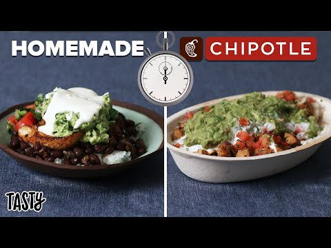 Can I Make A Chipotle Burrito Bowl Faster Than Delivery? • Tasty