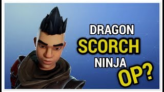 Dragon Scorch Ninja Review OP? - Fortnite Save The World
