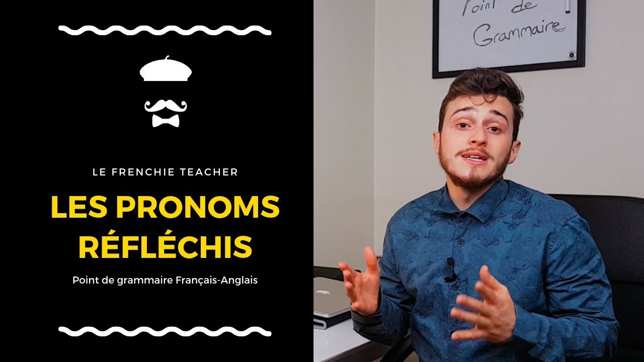 Les Verbes Pronominaux En Anglais Youtube