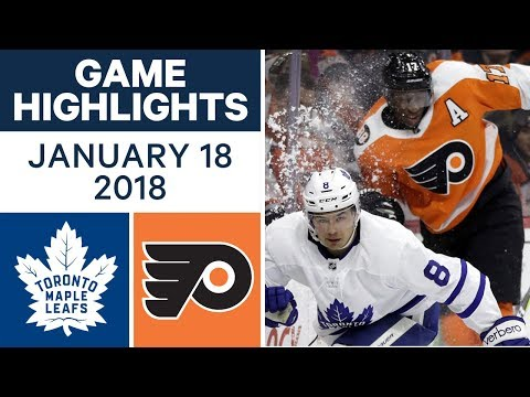 NHL game in 4 minutes: Maple Leafs vs. Flyers