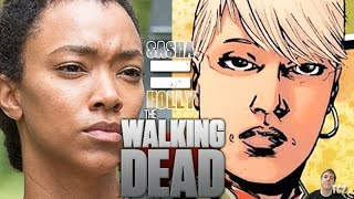 The Walking Dead Season 7 Second Half - Will Sasha Get Holly's Death?