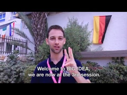 Tour BIG IDEA summer camp in Israel with Dotan, camp director