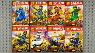 LEGO Ninjago Mini Dragons Sons of Garmadon Minifigures (knock-off) LELE 31135