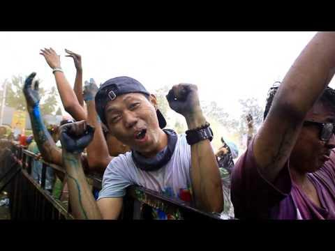 BILY NIAGARAWAN - COLOR RUN KOTA BUMI 2017 ( AFTER MOVIE )