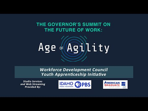 Idaho Workforce Development Council Youth Apprenticeship Initiative Launch #AmGrad