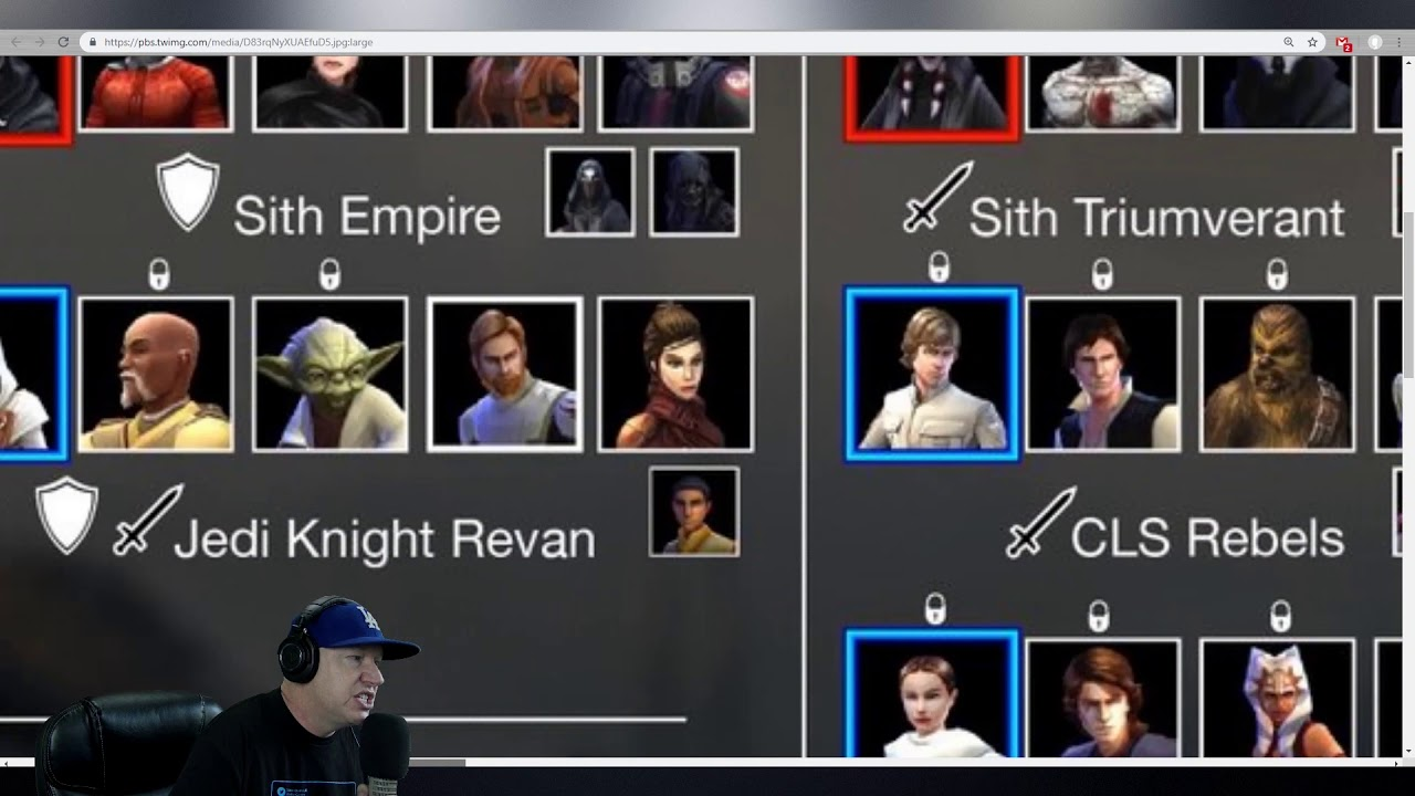 Grand Arena Full Tier List - Star Wars: Galaxy of Heroes - SWGoH