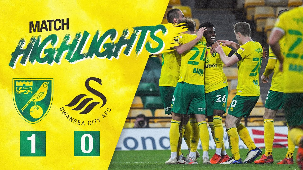 HIGHLIGHTS | Norwich City 1-0 Swansea