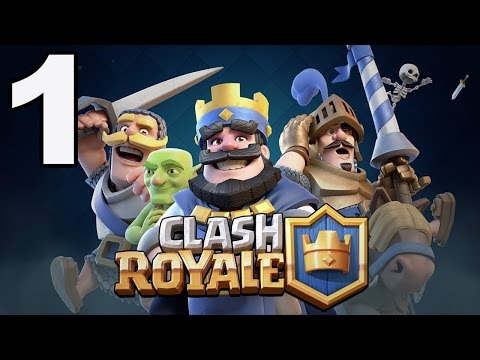 Clash Royale - Gameplay Walkthrough Part 1 - Training Camp (iOS, Android)