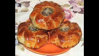 Татарский Вак белиш -рецепт.. Маленький пирог с мясом и картошкой.