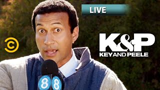 Local News Dog Fail - Key & Peele