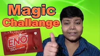 Eno Magic Challange - Magic Tricks With Candles IN HINDI || Srijan Show