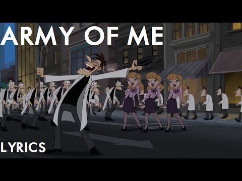 Phineas and Ferb Night of the Living Pharmacists - Army of Me Lyrics