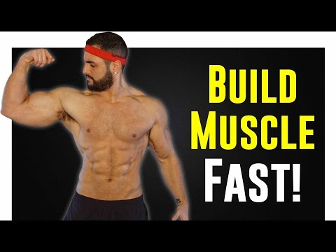 5 Step Process For Building Muscle Fast (While Staying Lean!!)