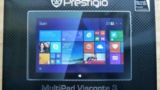 Unboxing the Prestigio MultiPad Visconte 3 tablet