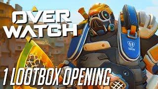 Ich öffne 1 Lootbox! | OVERWATCH Sommerspiele 2018