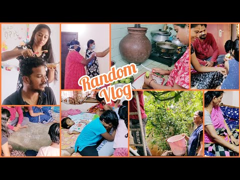 #Vlog | Entlone Hair Dye Try Chesanu | Sorry Fizz Gaadi Buvva Share Cheyaleka Poyanu😒| AS😘