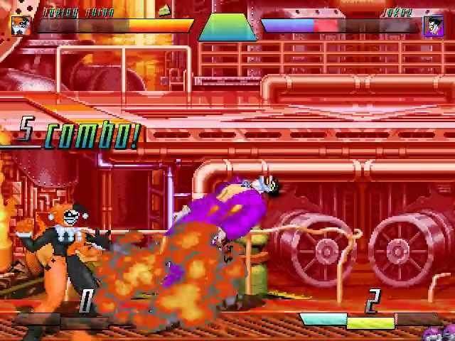 MUGEN |/| Harley Quinn (me) VS The Joker
