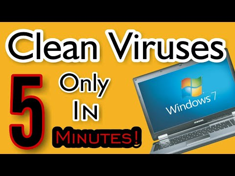 How to REMOVE All Viruses from the PC / Laptops only in 5 Minutes!  हिंदी मैं!