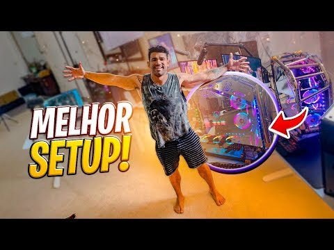 O MAIOR SETUP GAMER DO MUNDO  VLOG 140