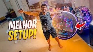 O MAIOR SETUP GAMER DO MUNDO || VLOG 140