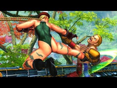 Cammy Super Moves: Cross Art Combo. Slow-Mo Fight (Street Fighter X Tekken. Dat Sexy Ass) - 동영상