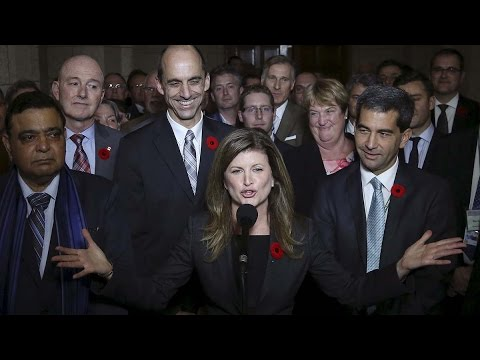 Rona Ambrose tries her French