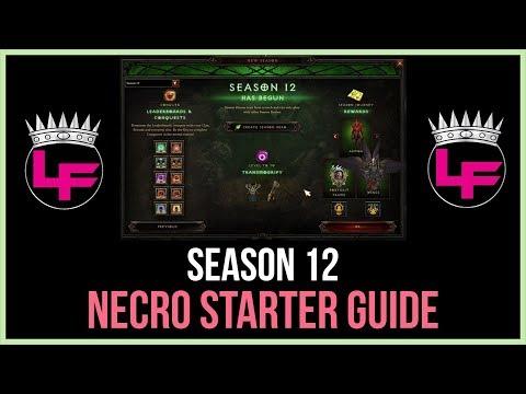 Download Youtube: Season 12 Necromancer Starter Guide