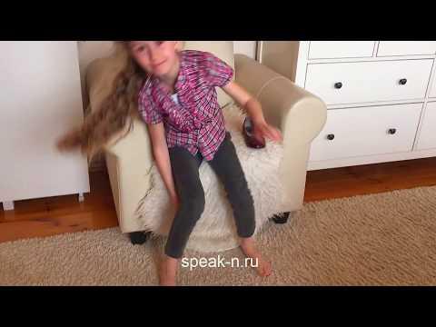 Английский с Николеттой веселая зарядка  Видео для детей  Nicoletta Exercises for kids