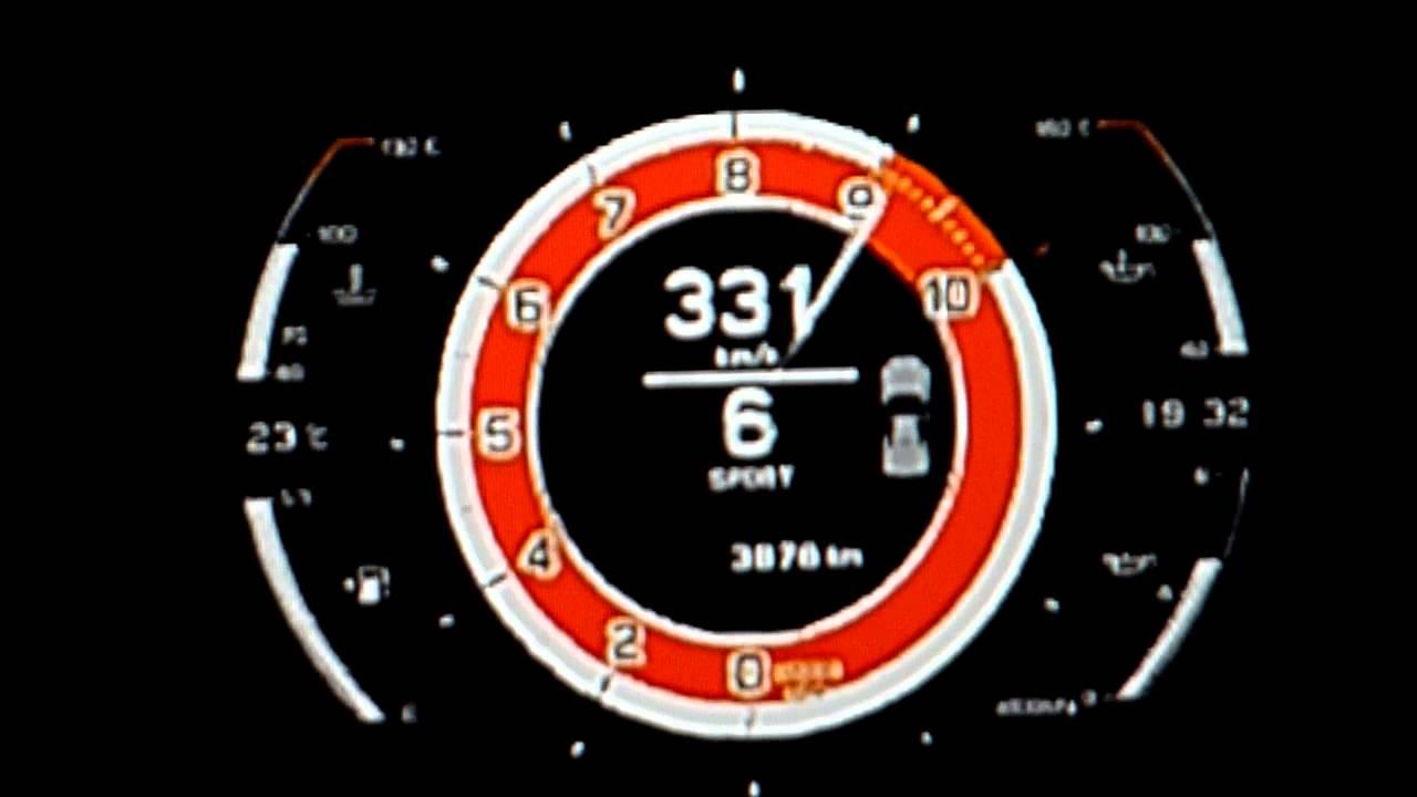 Lexus LFA Top Speed Run -GT6- - YouTube
