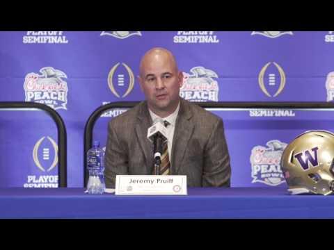 Alabama DC Jeremy Pruitt & DL Jonathan Allen talk Chick-fil-A Peach Bowl
