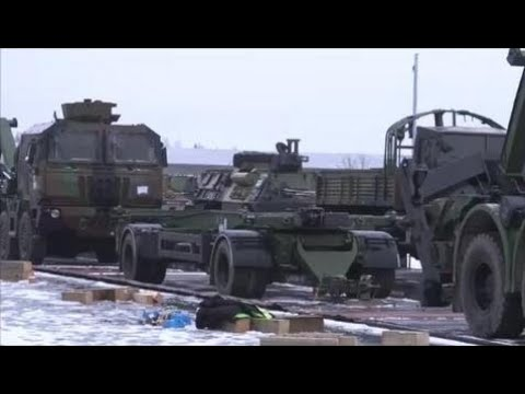 News Weapons Of War -  French Army Deploys Troops, Tanks, Artillery To Eastern Europe – Estonia