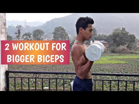 TOP 2 WORKOUT FOR BIGGER BICEPS || ANISH FITNESS ||