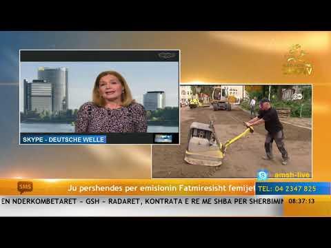 Aldo Morning Show/ Lidhja me Deutsche Welle (23.11.17)