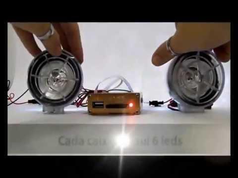 Casa do USB - Alarme para Moto c/ Som MP3 + Radio