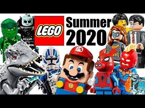 Top 30 Most Wanted LEGO Sets Of Summer 2020!