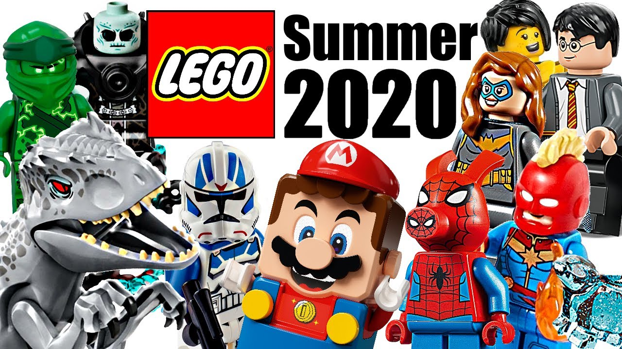 Top 30 Most Wanted LEGO Sets of Summer 2020! - YouTube